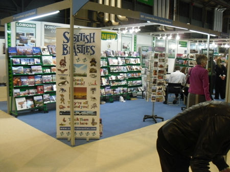 The Scottish Beasties Pocket Field Guide at the SECC