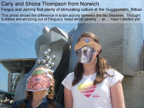 Carly and Shona Thompson.